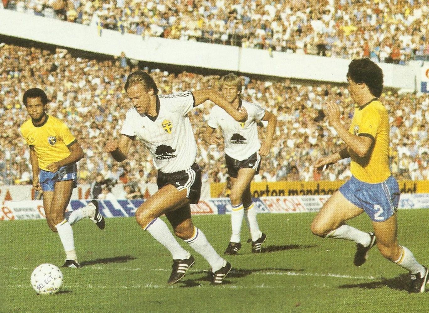 Sverige-Brasilien 1983.