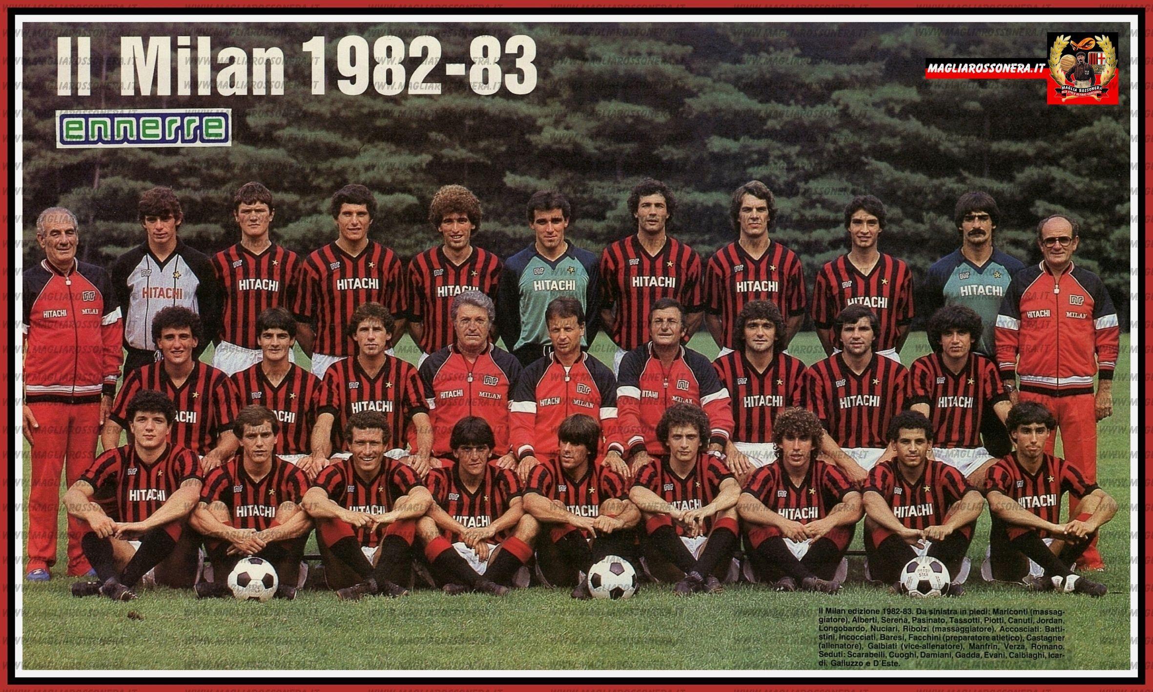 När AC Milan nådde botten – igen
