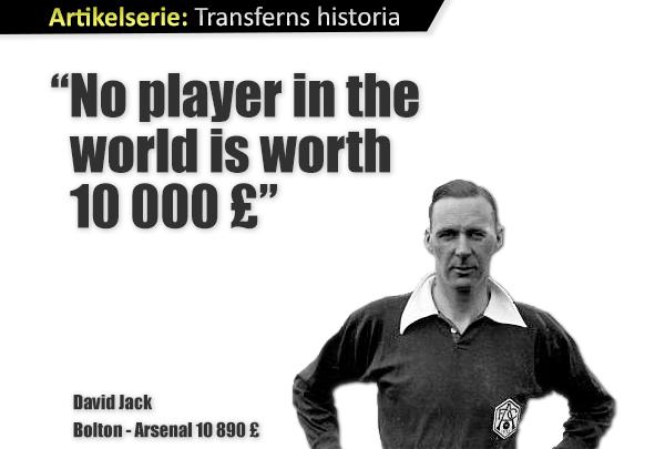 Världen blir dyrare – transfers 1905-1932