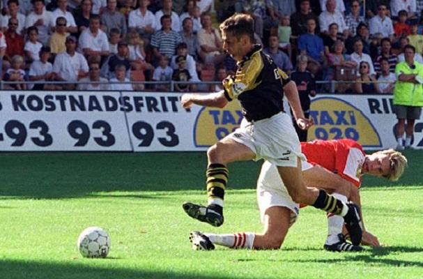 Degerfors-AIK 1997.